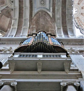 One of Six Organs - The Basilica - Mafra