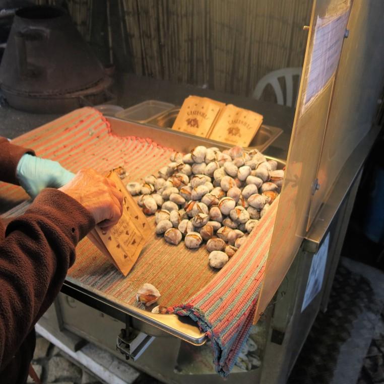Roasted Chestnuts - Óbidos - Portugal