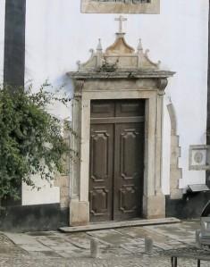 Door of Igreja de Santa Maria - Óbidos - Portugal