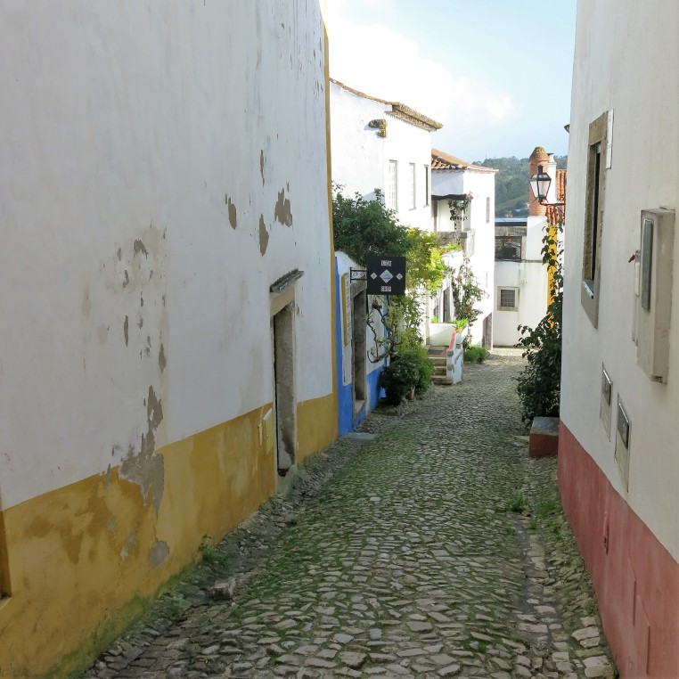 Street in Óbidos - Portugal