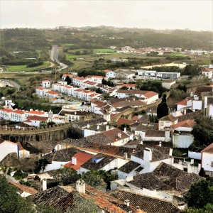 View from the Castle Walls - Óbidos - Portugal