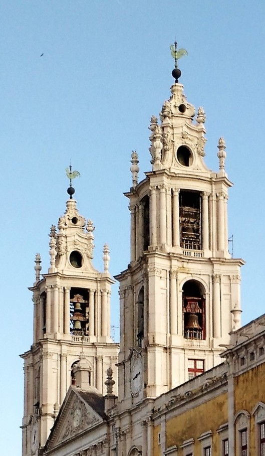 Towers with Carillon Bells - Palácio de Mafra
