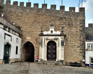 Entry of the Castelo de Óbidos - Portugal