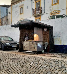 Chestnut Vendor - Óbidos - Portugal