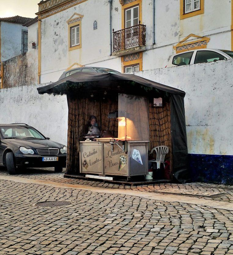 Chestnut Vendor - Óbidos - Portugal