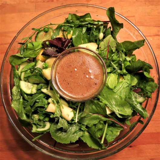 Mustard-Maple Vinaigrette