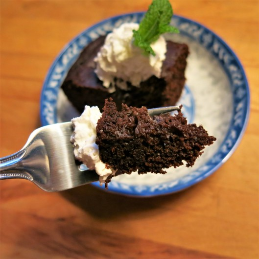 Tea Cup Chocolate Cake