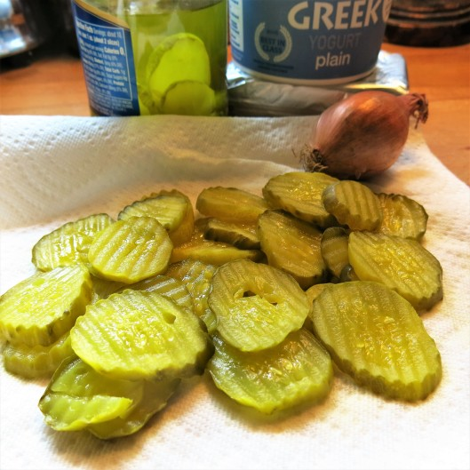 Well-Drained Dill Pickles