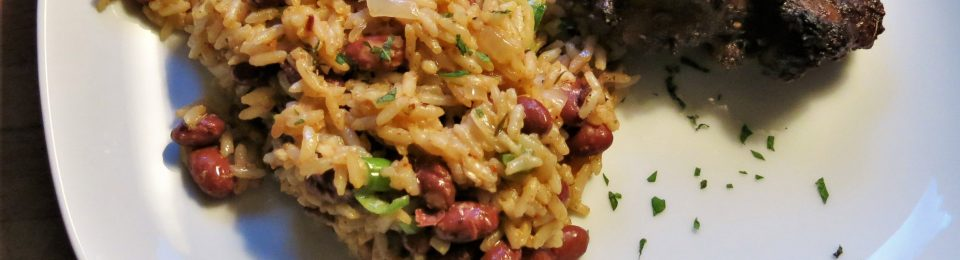 Calypso Rice and Red Beans