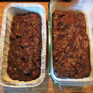 Chocolate-Cherry Loaf Cake