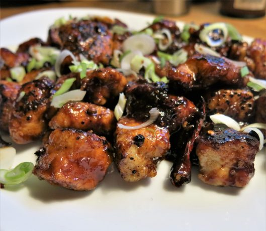 Quick, Pan-Fried General Tso's Chicken