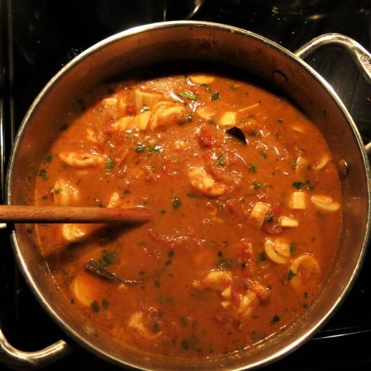 Brazilian Shrimp Stew (Moqueca de Camarão)