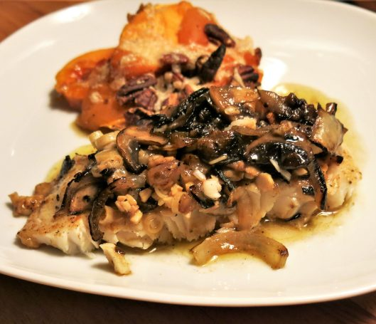 Thai-Flavored Turbot with Charred Onions