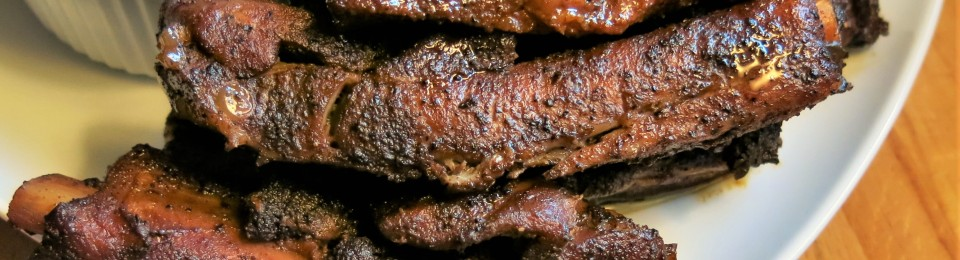 Dry Rubbed, Slow-Roasted Not-Adam's-Ribs