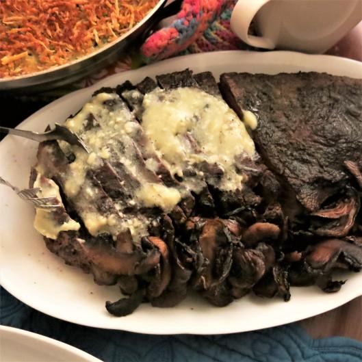 Steak with Bleu Cheese Butter