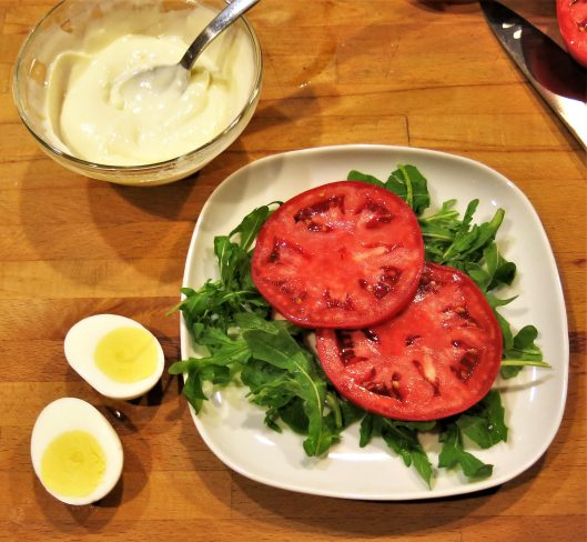 "Oeufs Mayonnaise (Eggs Cloaked in ""Almost Homemade"" Mayonnaise)"