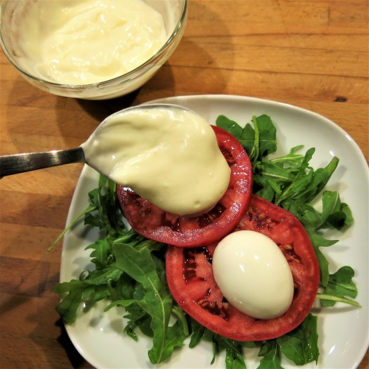 """Oeufs Mayonnaise (Eggs Cloaked in """"Almost Homemade"""" Mayonnaise)"""