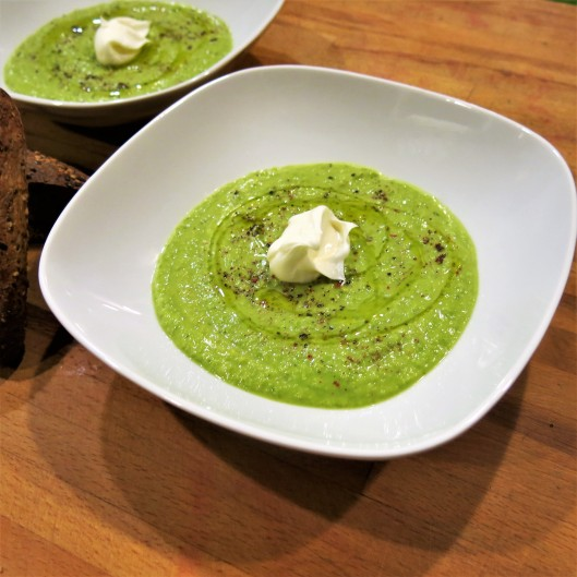 Chilled Princess-and-the-Pea Soup