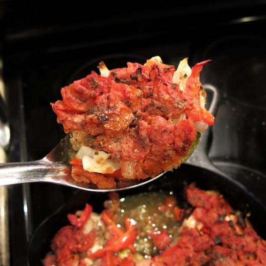 Eggplant, Zucchini and Tomato Casserole with Lebanese 7-Spice
