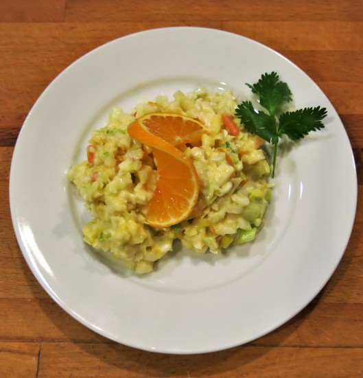Slaw with Mandarin Orange and Jicama