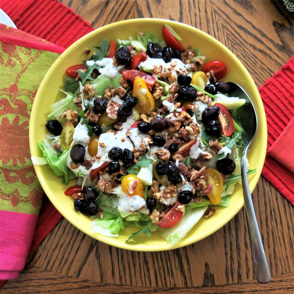 The Goddess's Dilly Ranch Salad Dressing and Dip