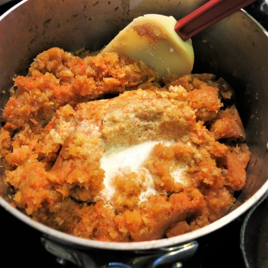 Rutabaga, Carrot and Parsnip Mash