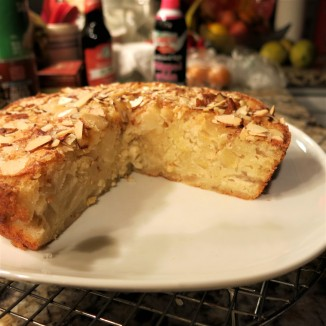 French Apple-Almond Cake